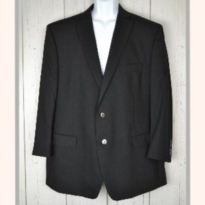 Calvin Klein Men's Black Sport/Blazer/Suit Jacket